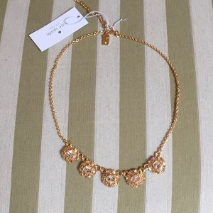 NWT Beautiful Kate Spade crystal necklace!